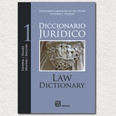 Diccionario juridico. Español / Ingles - Spanish / English. 2 tomos