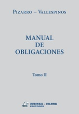 Manual de obligaciones. Tomo 2
