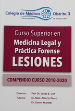 Cur so superior en Medicina Legal y Práctica forense